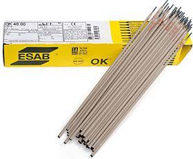 Obalená elektroda OK 48.00 3,2x450 balení 124ks 6,0kg ESAB bazická