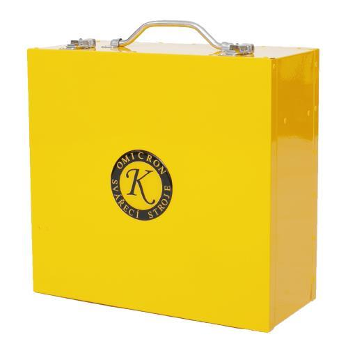 Kufr GAMA a kabelů - žlutý