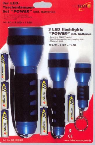 3 x ruční svítilna - set