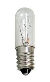 Náhradní žárovka230V/7W, E14 - válcová