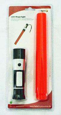 Svítilna 3 LED s poutkem a s červeným směrníkem