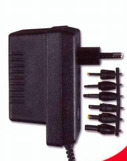 Napáječ 230V/3 - 12V DC, 560 mA - stabilizovaný - universální