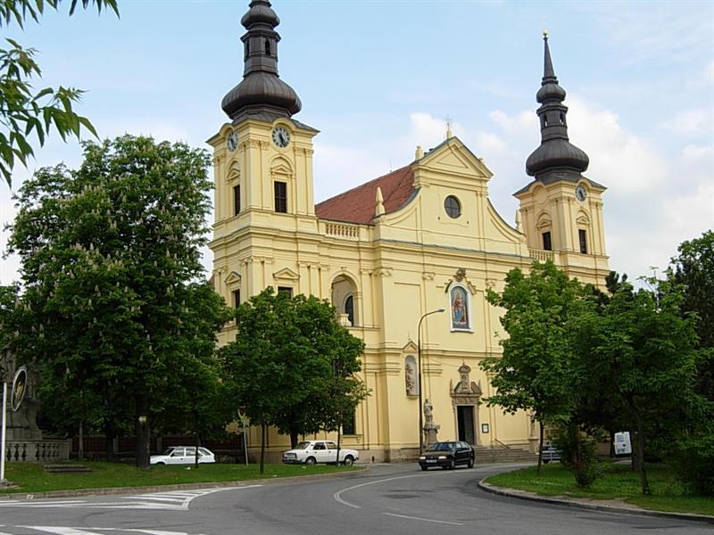 Izolace kostela Brno-Tuřany.