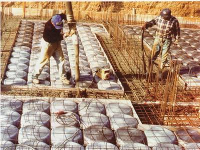 IGLU-příprava stavby před betonáží