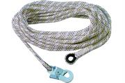 Bezpečnostní lano AC 100 s karabinou, 20 m