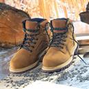 FARM HIGH kotníková pracovní obuv - písková