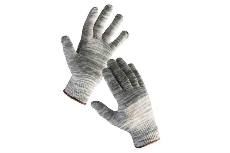 BULBUL pracovní rukavice bezešvé