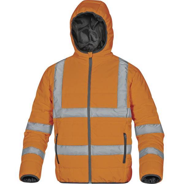 výstražná reflexní zimní bunda DOON HV oranžová