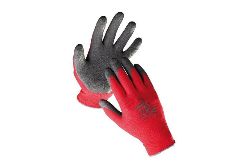 HORNBILL pracovní rukavice povrstvené gumou