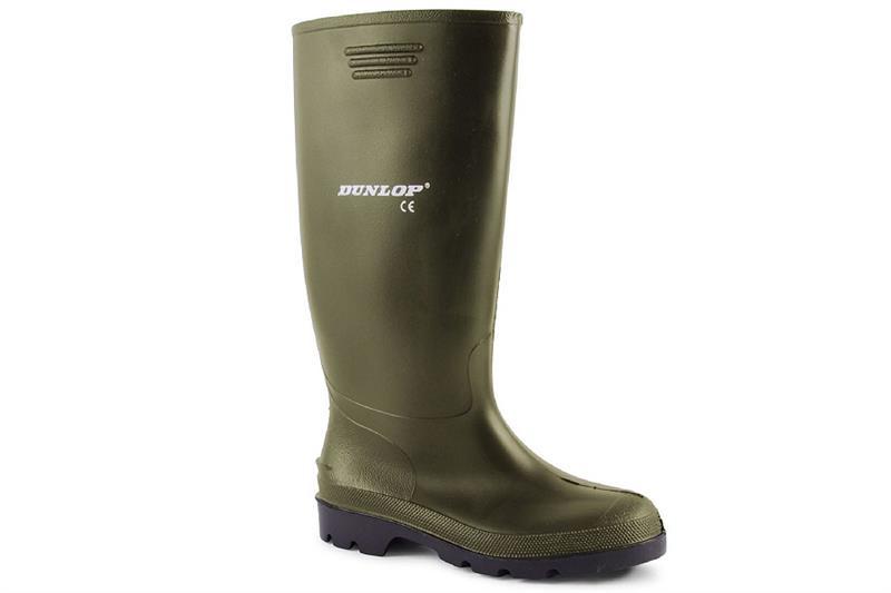 holinky Dunlop Pricemastor vysoké  zelené