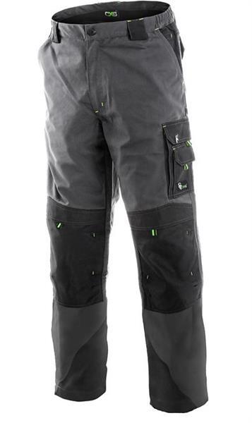 montérkové kalhoty Sirius Nikolas šedo/zelené