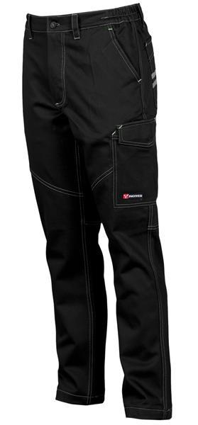 kalhoty kapsáčové černé Forest Stretch