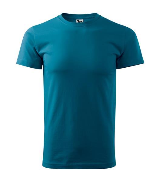 tričko barevné Adler Basic 160gr, kulatý výstřih - petrolejová