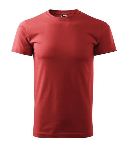 tričko barevné Basic 160gr, kulatý výstřih - bordo