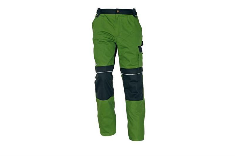 CERVA Stanmore montérkové kalhoty do pasu zelené