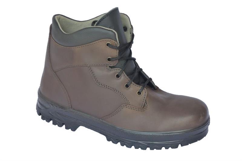 Farmářka TREK kotníková pracovní obuv - hnědá