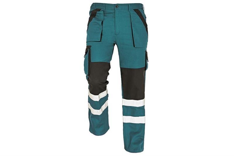 MAX REFLEX kalhoty pasové zelen