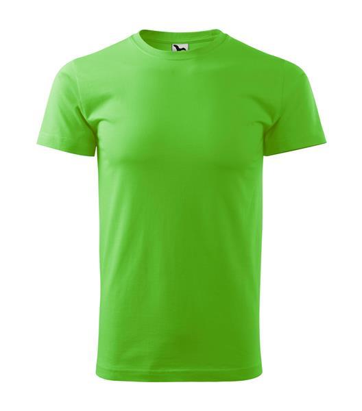 tričko barevné Adler Basic 160gr, kulatý výstřih - apple green