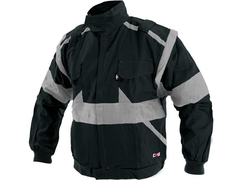 pracovní oděvy-blůza Lux černo-šedá-Canis