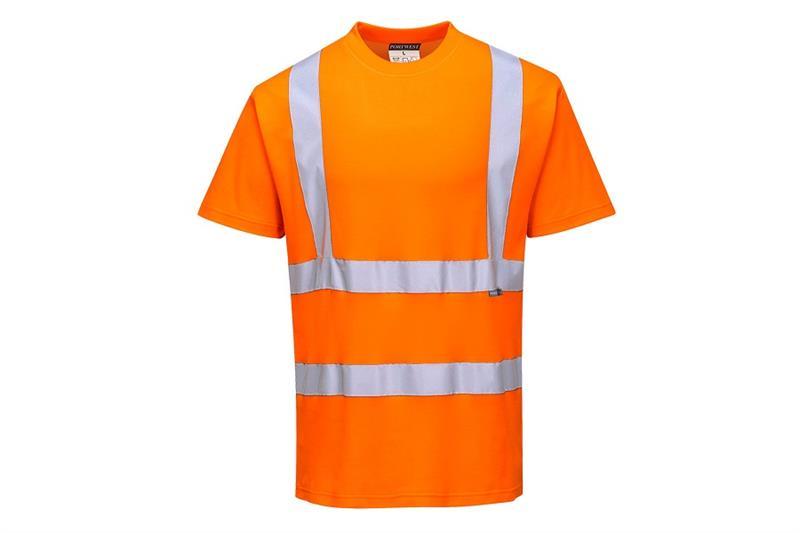 S170 Výstražné tričko s reflexními pruhy Comfort