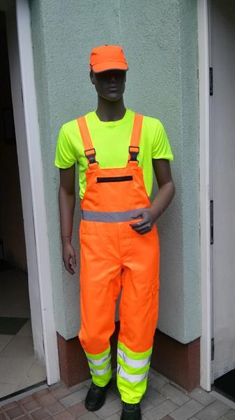 výstražné laclové kalhoty dle směrnice ŘSD