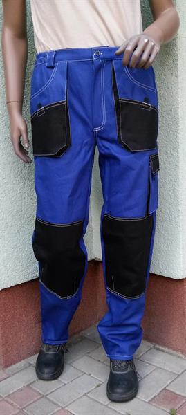 pracovní kalhoty do pasu Marek modré