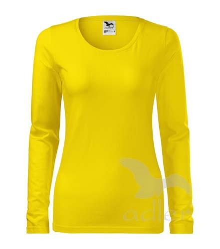 triko dámské, dlouhý rukáv, 180gr žlutá