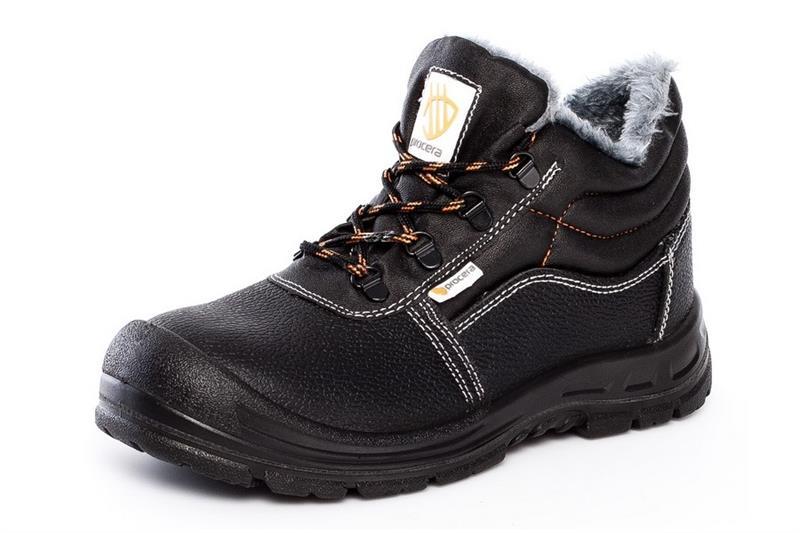 SOLID Winter S1 zimní pracovní kotníková obuv se špicí