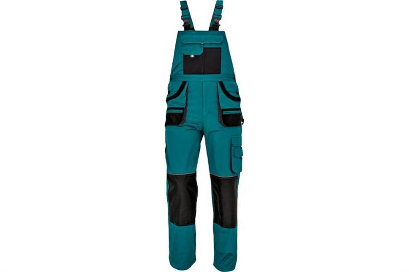 CERVA  F&F CARL montérkové kalhoty s laclem zelené