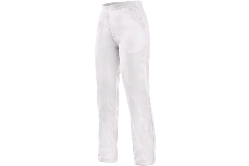 CXS DARJA kalhoty bílé dámské - pevný pas