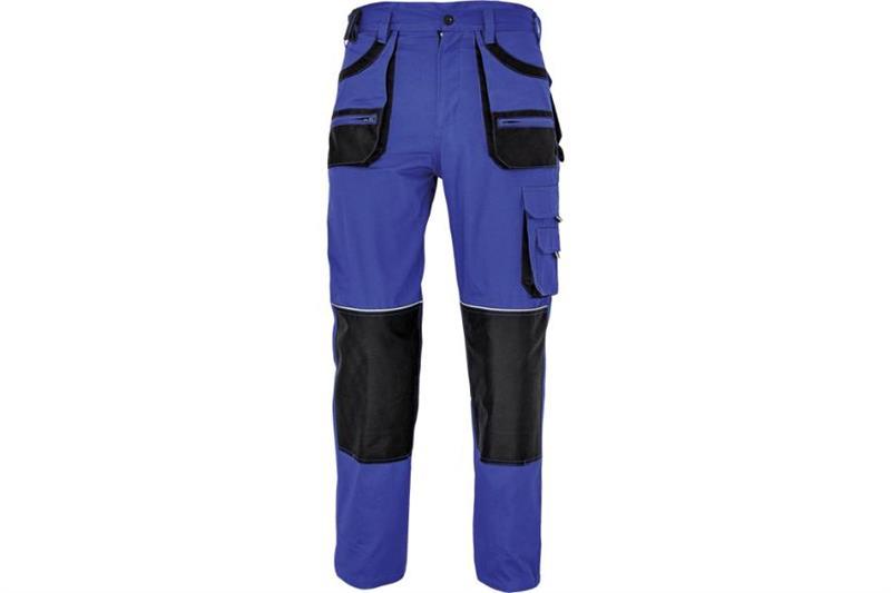 F&F CARL montérkové kalhoty do pasu modré