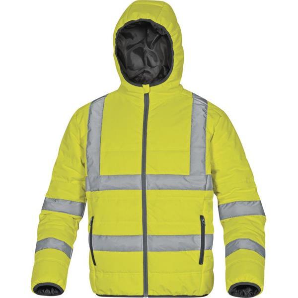 výstražná reflexní zimní bunda DOON HV