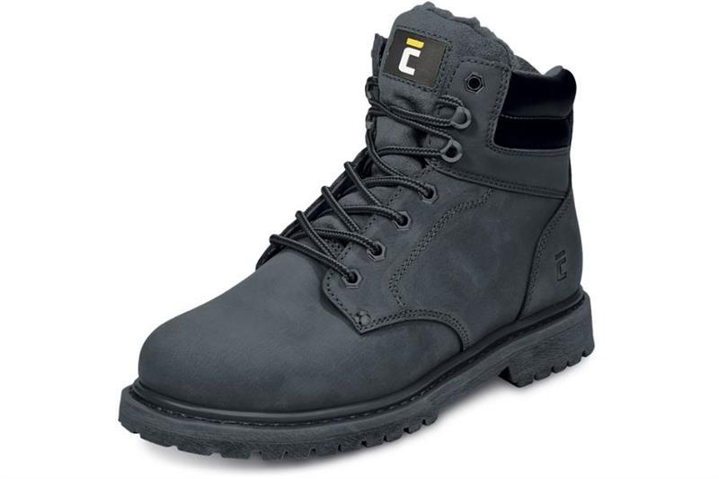 pracovní obuv-Farmářka zimní, barva černá