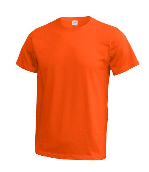 MT01 tričko tmavě oranžová  180gr