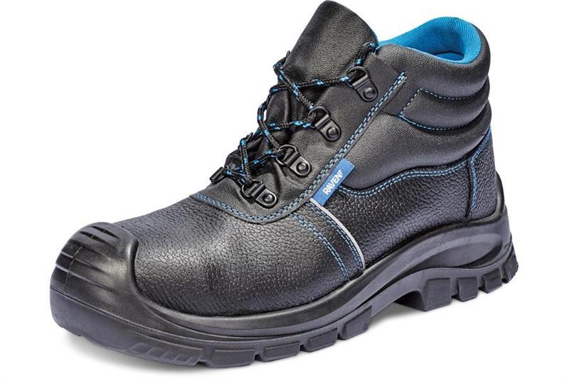 RAVEN XT S3 pracovní obuv s ocelovou tužinkou ve špici a planžetou