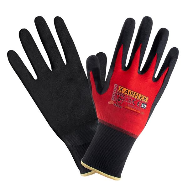 AirFlex rukavice povrstvené nitrilovou pěnou