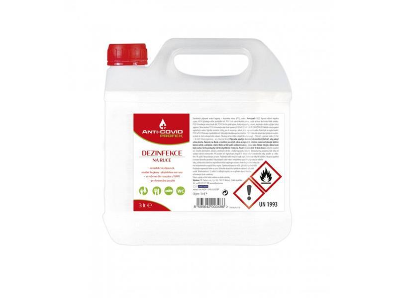 Dezinfekce PROFEX Anti-COVID balení 3L