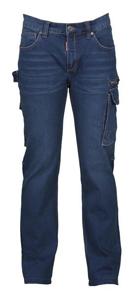 riflové kalhoty West s elastanem
