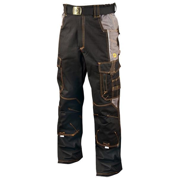 montérkové kalhoty do pasu Vision černé
