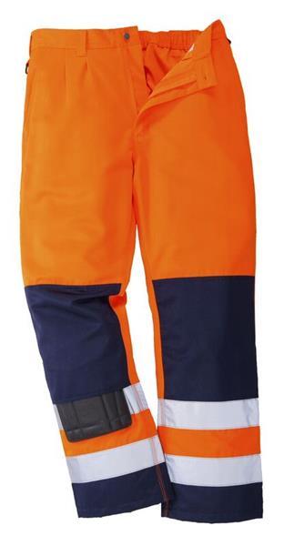 výstražné kalhoty do pasu TX71 oranžové