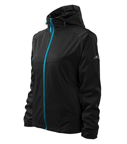 Dámská bunda Cool 514, lehký softshell černá