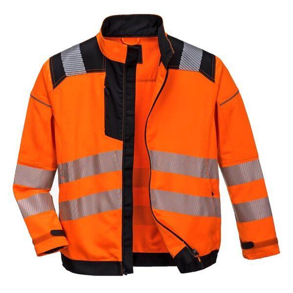 reflexní výstražná montérková blůza T500 oranžová