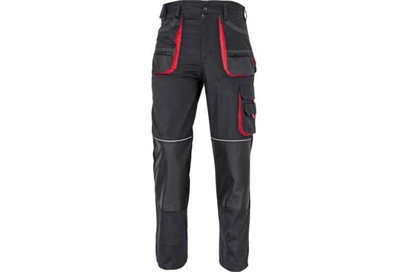 F&F CARL montérkové kalhoty do pasu černé