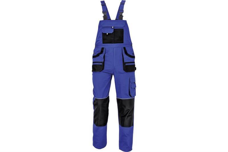 CERVA  F&F CARL montérkové kalhoty s laclem modré