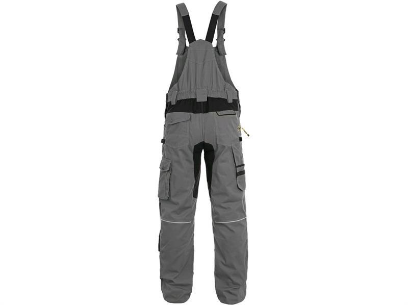 Kopie - Kalhoty laclové CXS STRETCH, pánské, šedo/černé