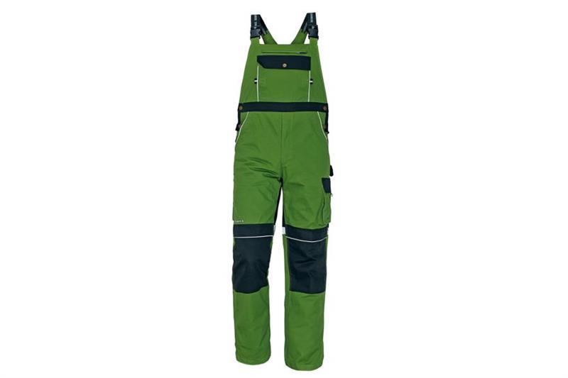CERVA Stanmore montérkové kalhoty s laclem zelené