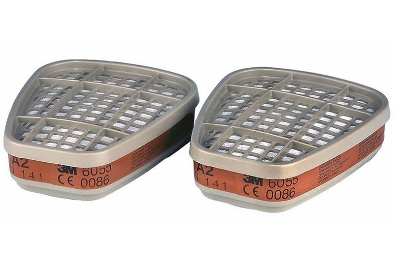 3M 6055 A2 Filtr proti organickým plynům a výparům