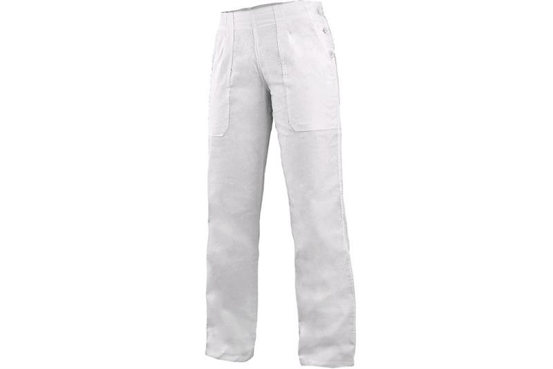 CXS DARJA kalhoty bílé dámské - pas do gumy