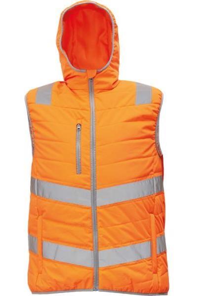 MONTROSE HV reflexní zimní vesta oranžová