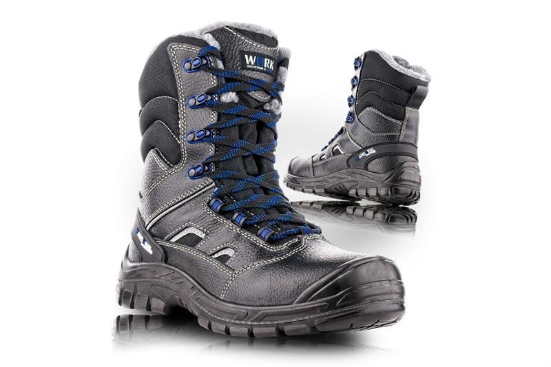 VM SHEFFIELD 2890-O2W zimní poloholeňová pracovní obuv